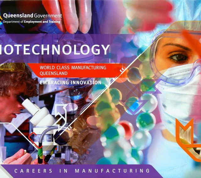 QLD Government careers in biotechnology