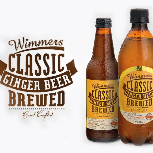wimmers ginger beer bottles 330ml and 600ml